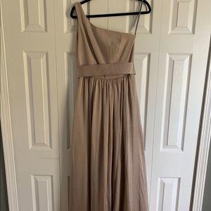 Vera Wang White Brand Bridesmaid Dress